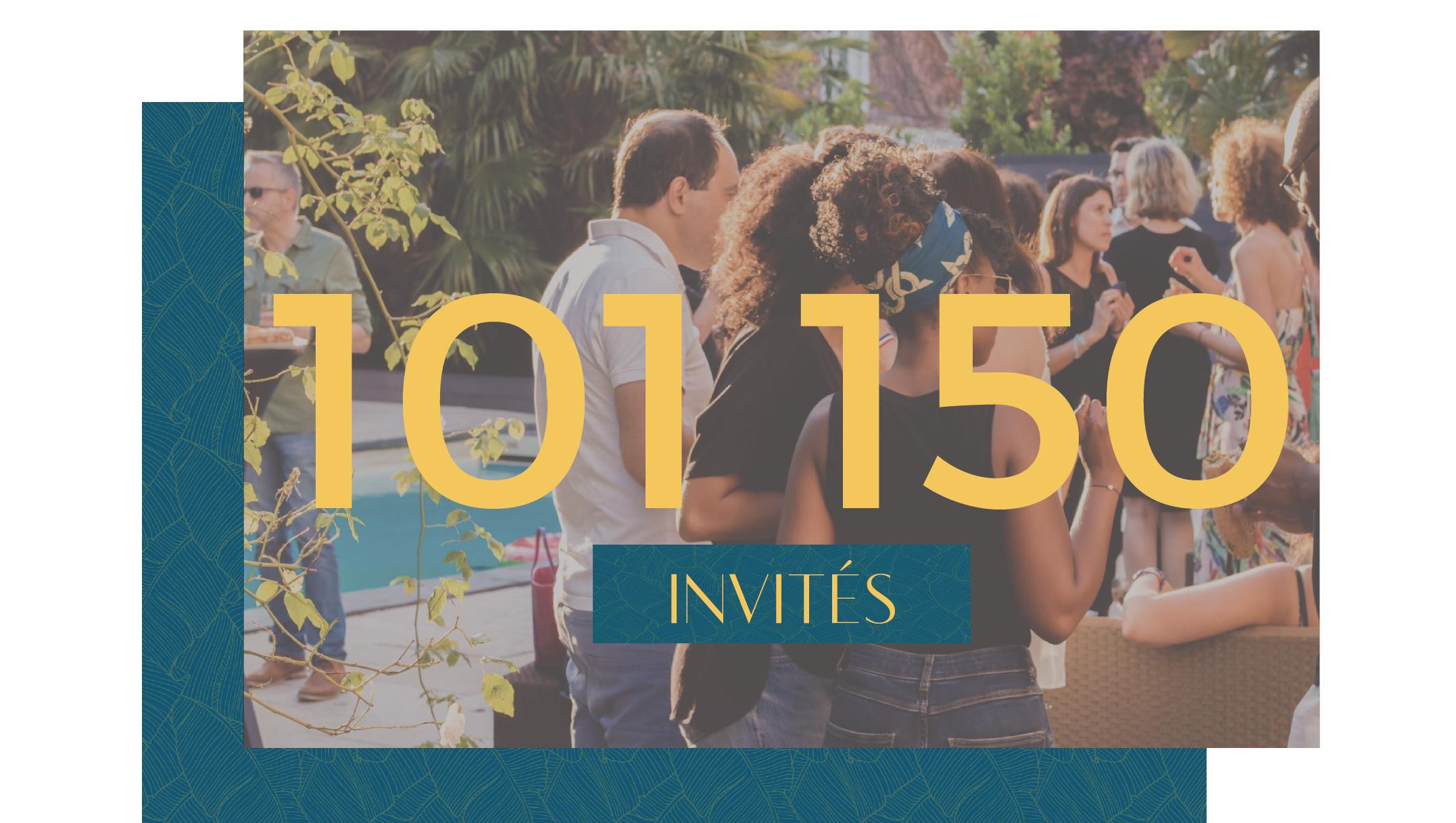 101 150 invités