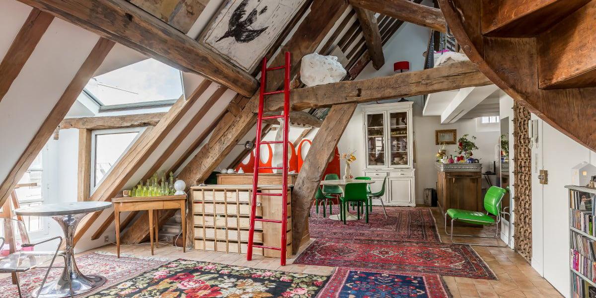 L'appartement coloré Saint-Germain
