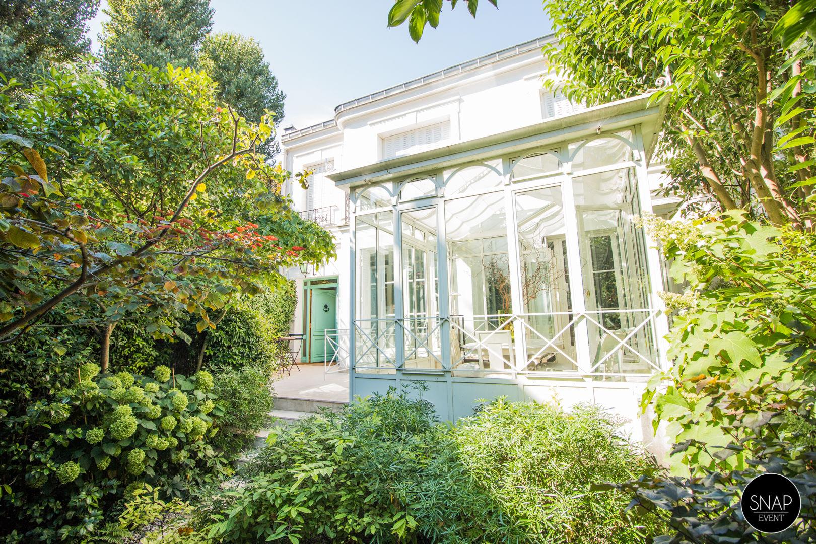 La villa avec jardin de Marie