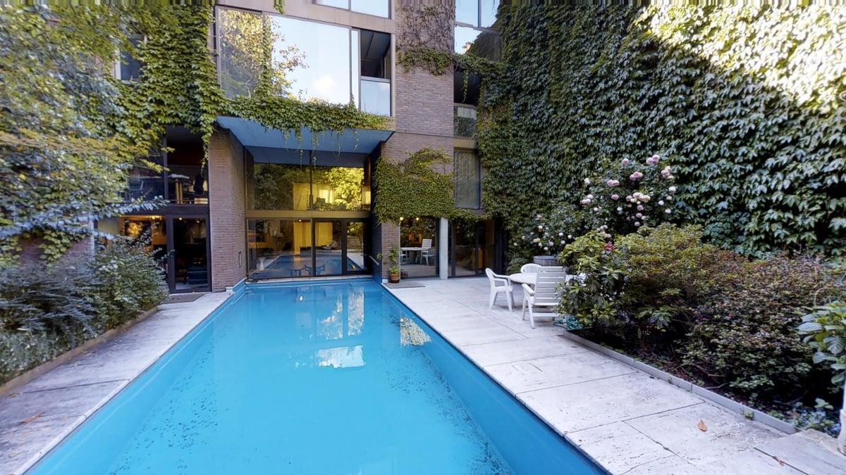 la villa avec piscine d'Hélène