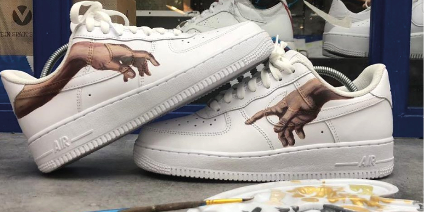 sneakers cut